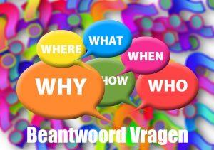 bloggen beantwoord vragen