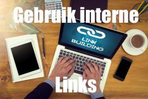 bloggen gebruik interne links