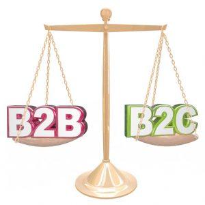 wat is het verschil tussen B2B en B2C