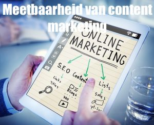 Meetbaarheid van content marketing