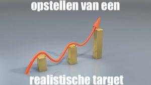 opstellen van een realistisch target