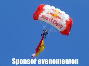sponsor evenementen