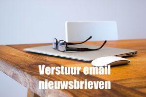 verstuur email nieuwsbrieven