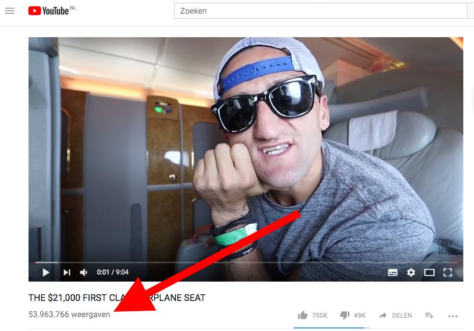 casey neistat emirates first class